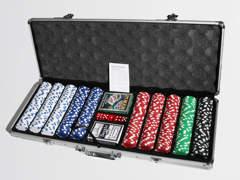 1189 Poker Set (300 Chips)
