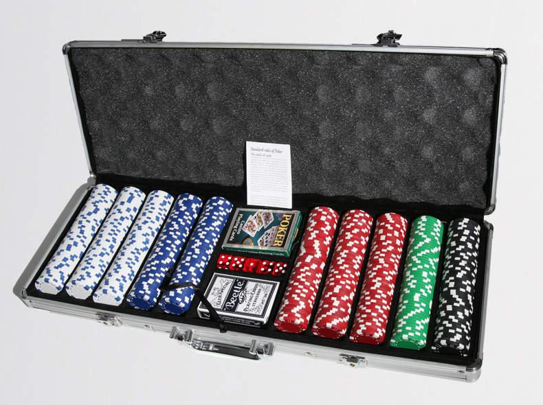 Spielanleitung Poker Set