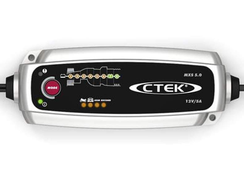 1195 CTEK MSX 5.0 12V Batterieladegerät
