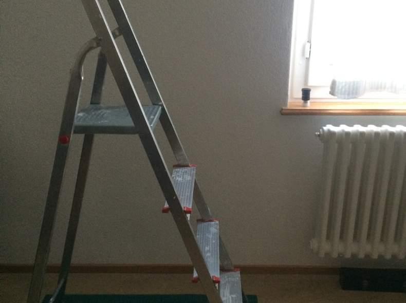 1215 klappbare Leiter