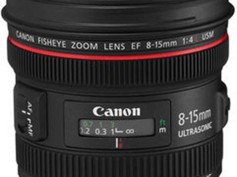 1226 Canon Fisheye 8-15mm f/4L