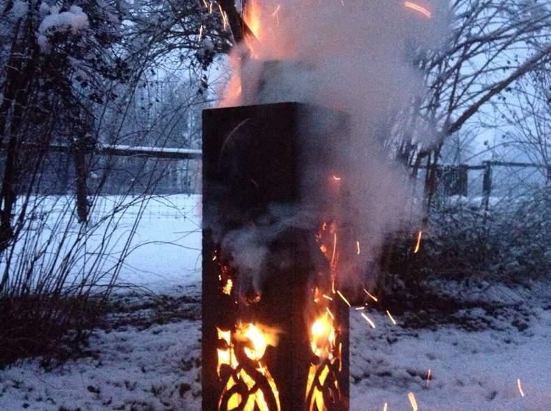 1405 Dekorative Feuersäule
