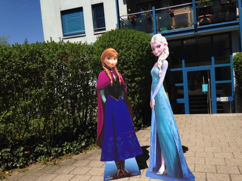 1514 Elsa & Anna (Die Eiskönigin) Pop-up