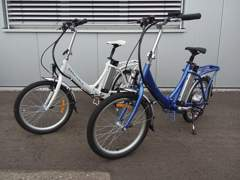 1568 E-Bike - E-Faltvelo für Caravan