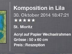 1626 Komposition lila