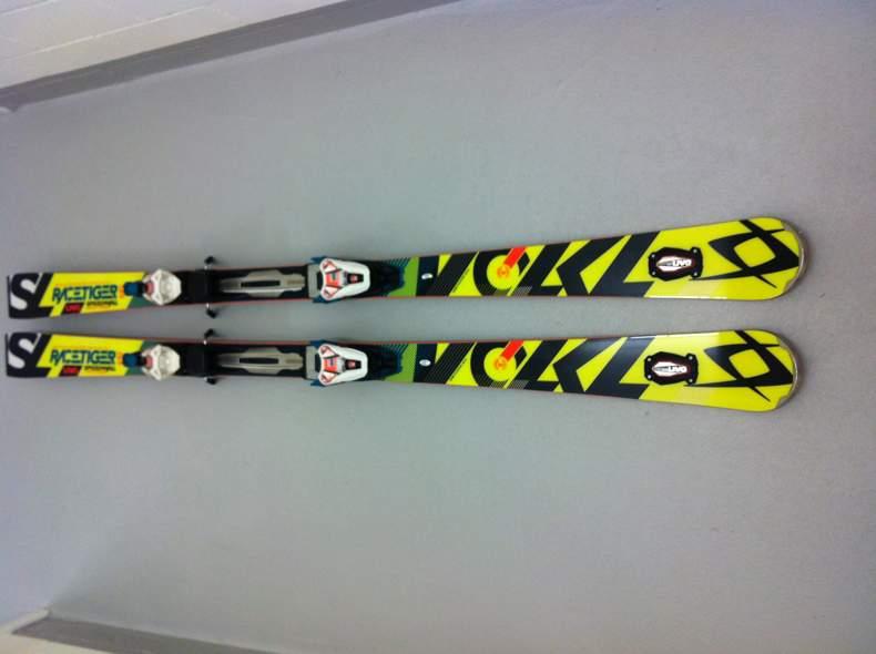 1720 Ski Voelkl Racetiger 165cm mit UVO