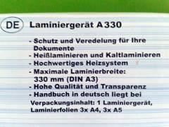 1761 Laminiergerät (bis A3)