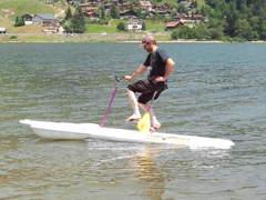 1796 SURF-BIKE Hydrobike Wasservelo :-)