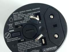 1871 Travel-Strom-Adapter fürs Ausland