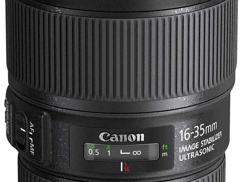 1999 Canon Objektiv EF 16-35 4.0 L IS
