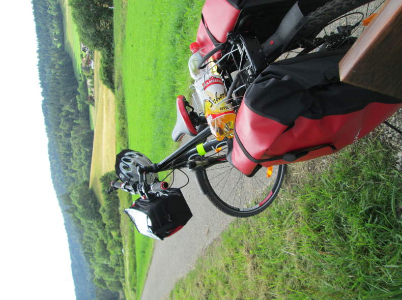 2303 Hinterradtaschen für Fahrrad/ Velo