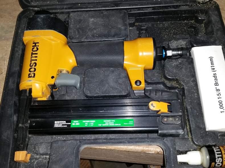 2404 Druckluft-Tacker Bostich 2in1 SX/BT