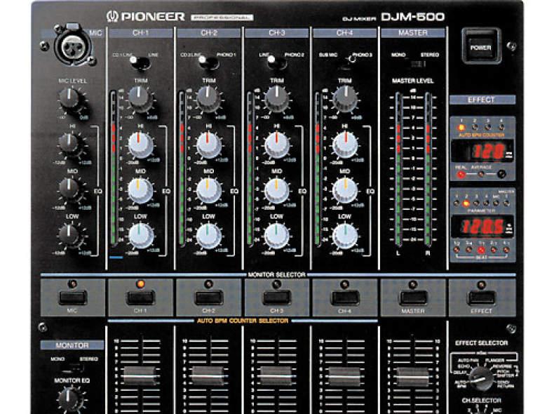 5393 Pioneer DJM-500 Mischpult