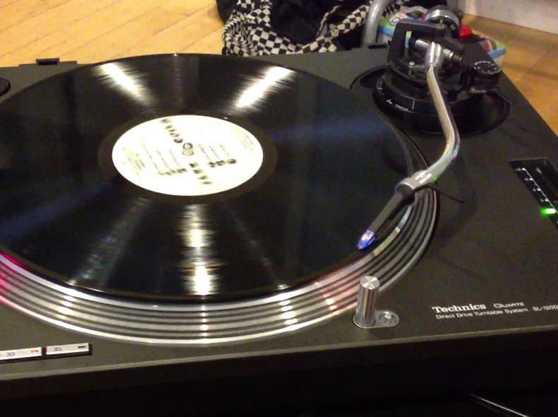 5394 Technics SL-1200 MK2 Plattenspieler
