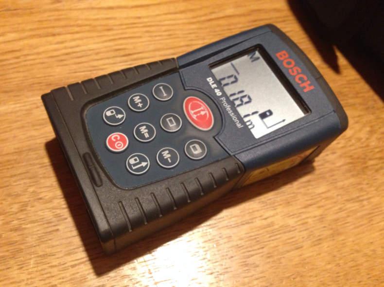5402 Distanzmessgerät Laser Bosch DLE 40