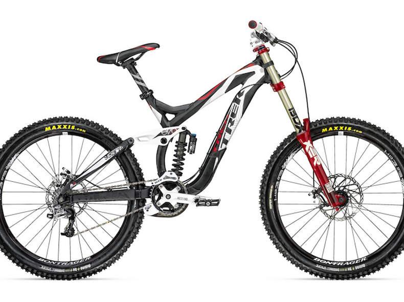 2537 downhill Fahrrad inkl. Protektoren