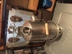 5437 Ghillie kettle - Camping kocher