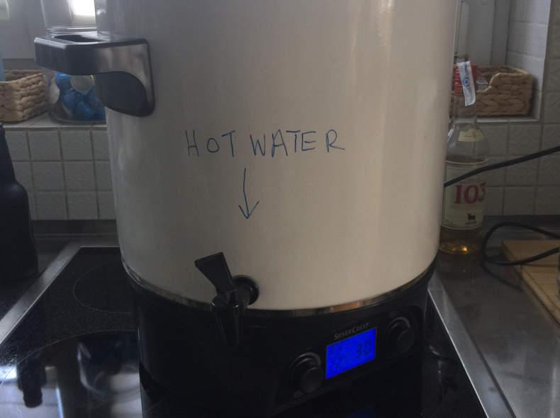 5446 Wasserkocher, 30 Liter