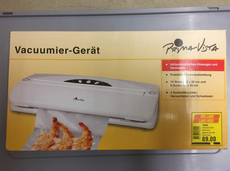 5459 Vacuumier-Gerät