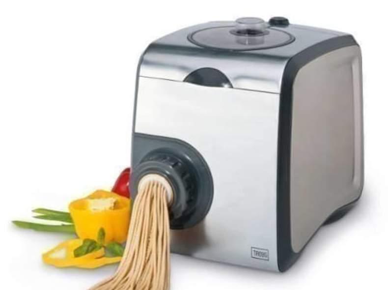 1908 vollautomatische Pastamaschine