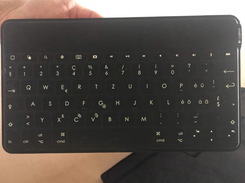 5494 Logitech Keys-To-Go, Tastatur