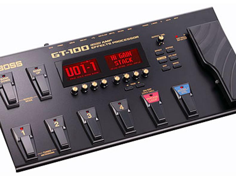 5538 Boss GT100 Gitarreneffektgerät