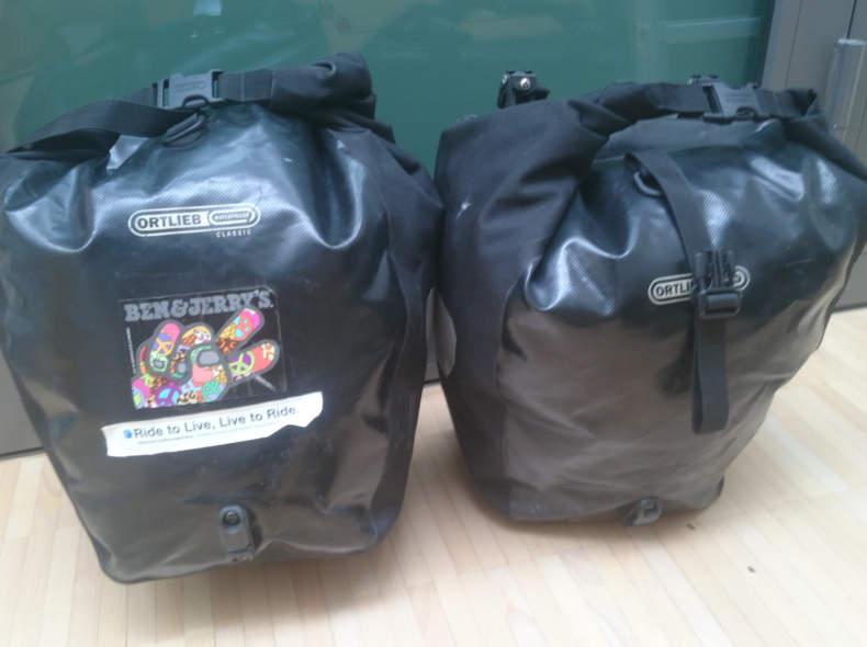 5648 Ortlieb Packtaschen, Gepäckträger