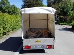 10911 Autoanhänger Humbaur 750kg
