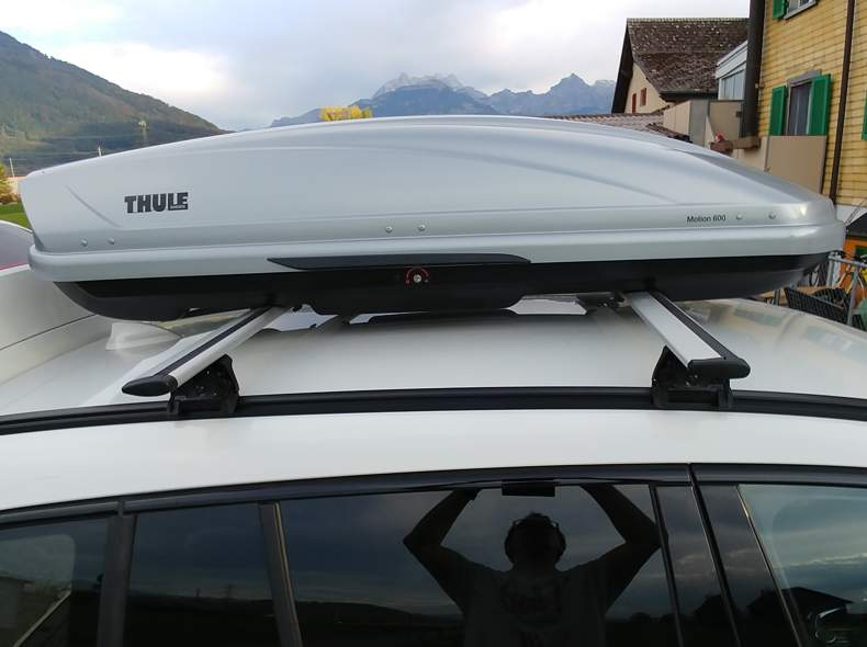 Betere Sharely - Dachbox Thule Motion 600 ZQ-98