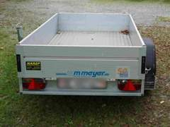 12687 kompakter Anhänger 1080kg Nutzlast