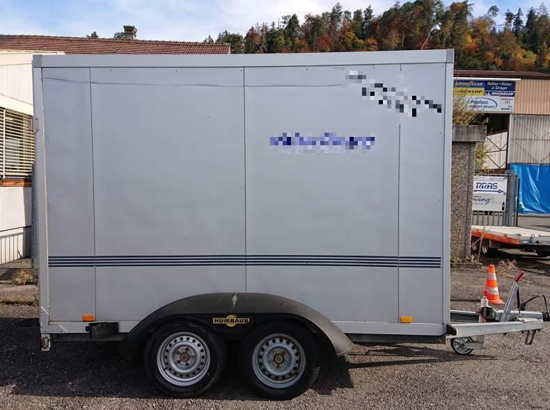 12822 Kastenwagen mit Laderampe
