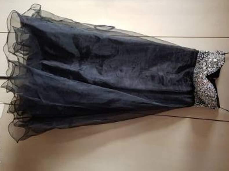 12887 Ballkleid schwarz grösse 36