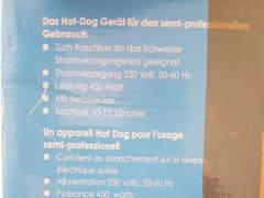 5704 2er HotDog Gerät