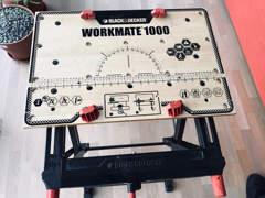 13404 Werkbank von Black&Decker Mate 1000