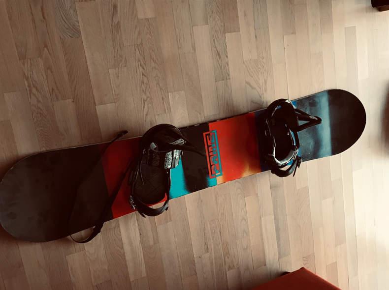 13405 Snowboard Nitro Prime