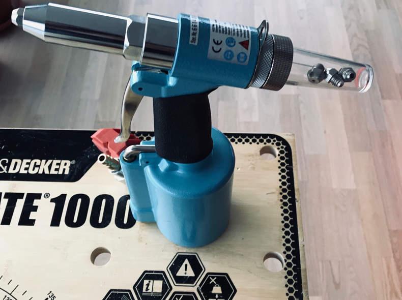 13407 Nietpistole Luftdruck