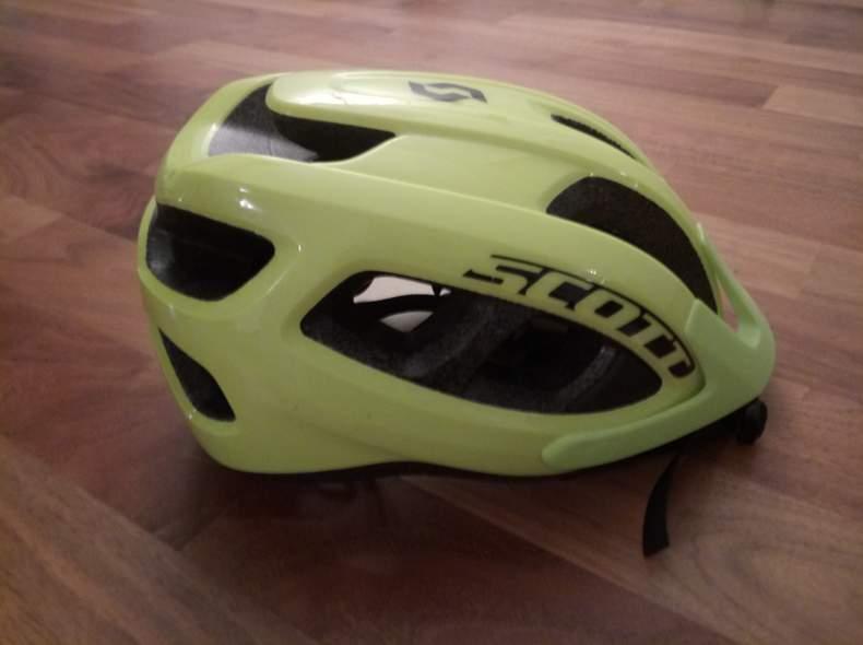 13769 Neon Fahrradhelm