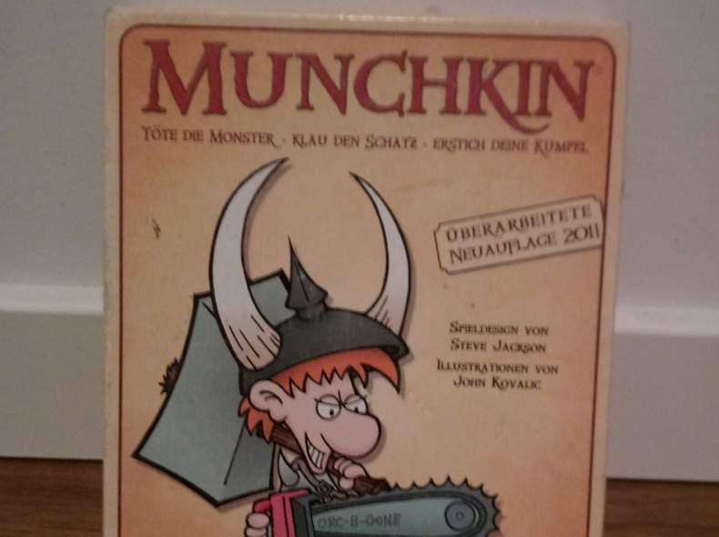 13786 Munchkin Basisspiel Kartenspiel