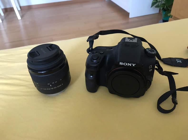 13858 Spiegelreflexkamera Sony @58