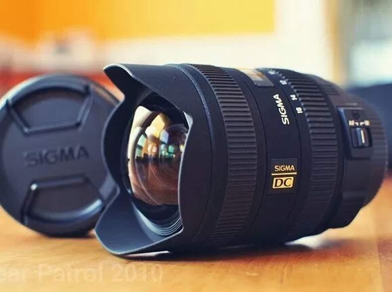 14134 Sigma für Canon EFS 8-16mm Objektiv