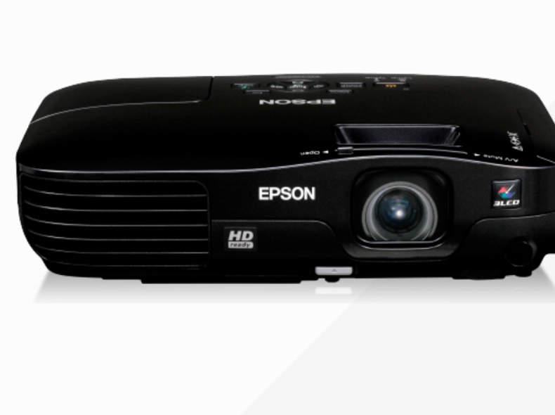 14195 Epson EH-TW450 mit Leinwand