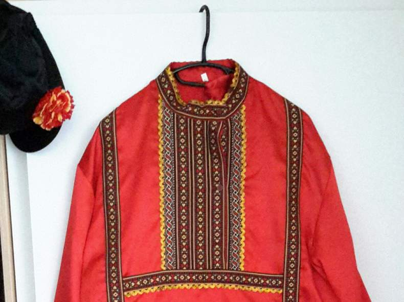 14240 Slawisches Herren Kostüm