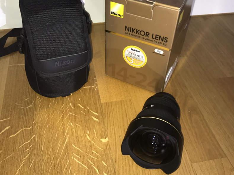 5739 Nikon Weitwinkel Objektiv 14-24