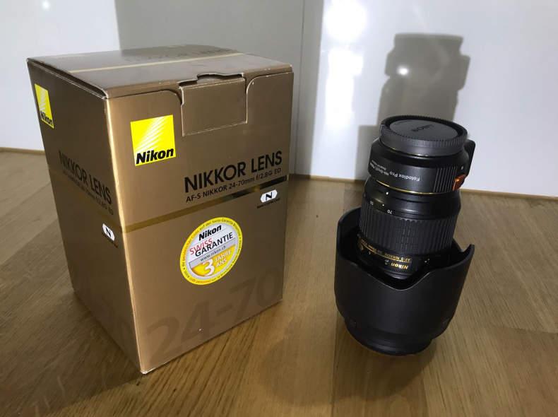 5740 Nikon Objetiv N 24-70mm f/2.8