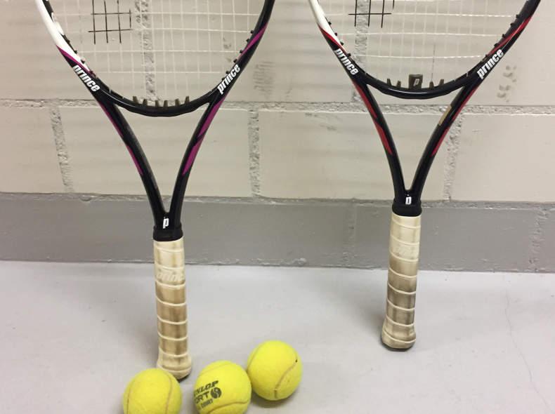 15044 Tennisschläger Set (Herren/Damen)