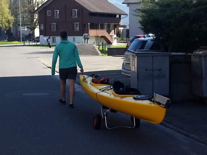 15131 Kayak gelb für 2 Personen