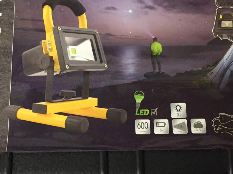 15137 LED Akkuscheinwerfer 10 Watt