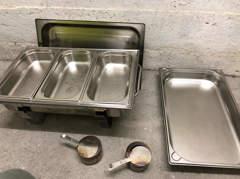 15292 Chafing dish trio