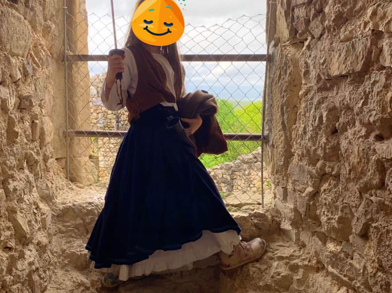 15360 Mittelalterkleid für Kinder