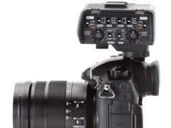 5762 Panasonic Lumix GH5 mit XLR-Adapter